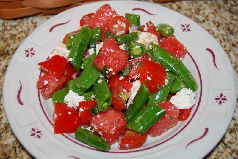 EwE Watermelon Feta WWDH Salsa Verde 30 Min Pasta w Spring Veg 003