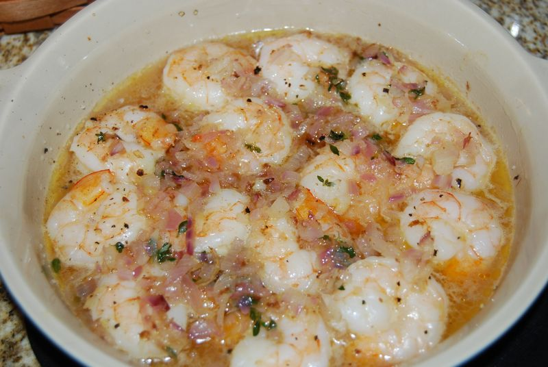 WiaFK Shrimp and Pea Soup 012