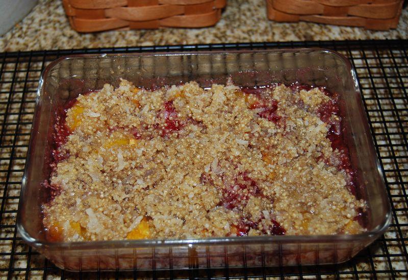 Ewe chili, sweet pot, mango sorbet 013