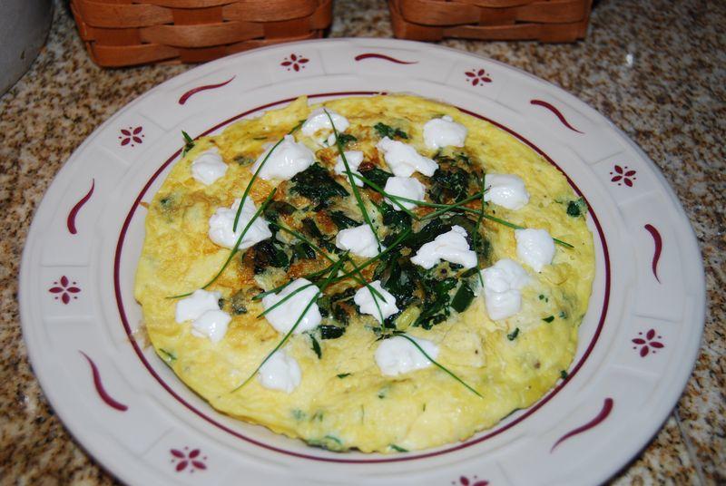 WWDH and EwE fried rice, cobbler, frittata 043