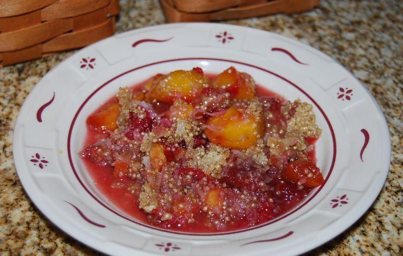 Ewe chili, sweet pot, mango sorbet 023
