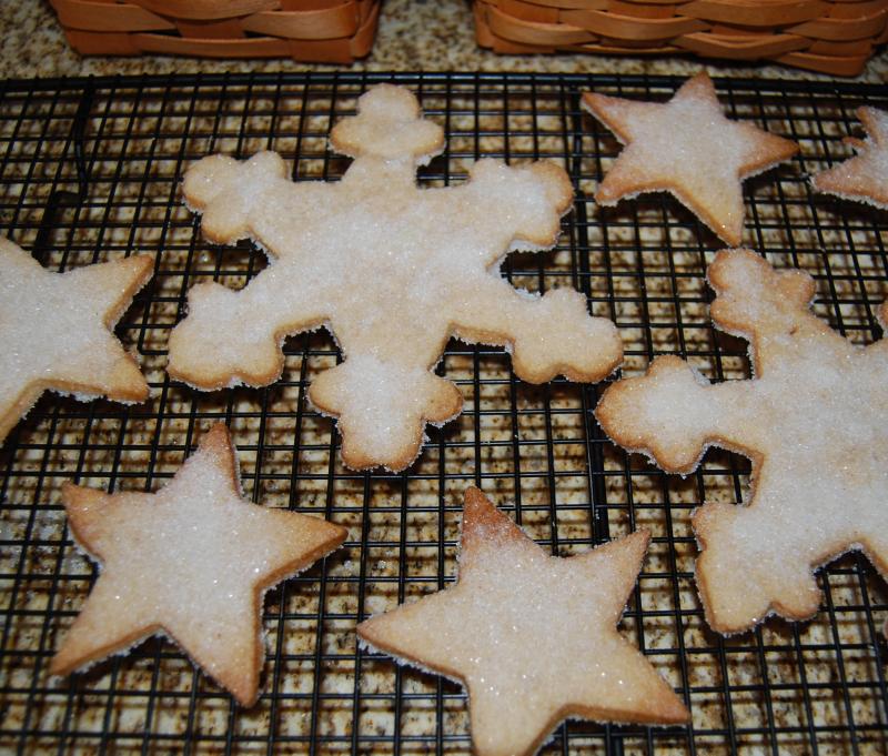 Ewe Cx and TWD Christmas Spice Cookies 027