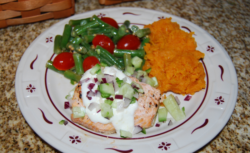 Cookbook countdown salmon 031