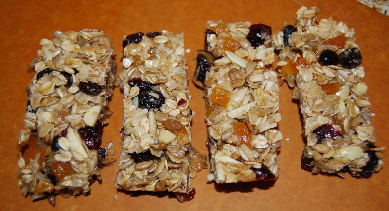 TWD Granola Energy Bars 014