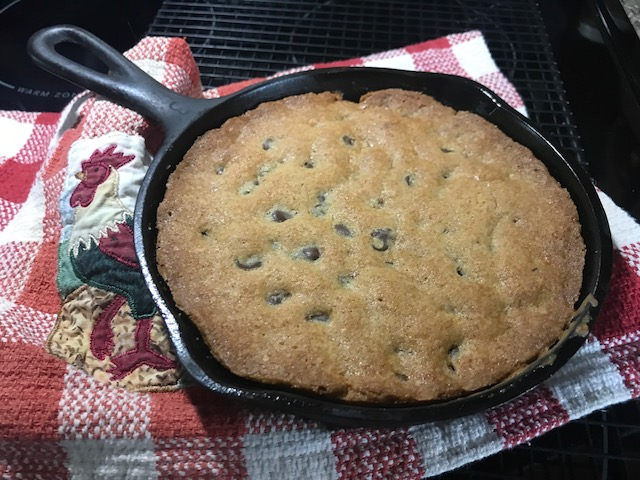TWD skillet cookie small
